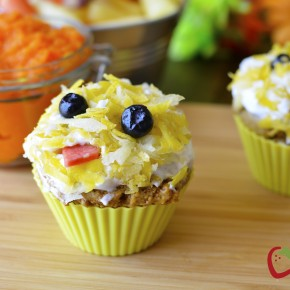carrot muffins 2 from shk