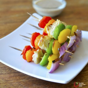 chicken kabobs with peppers from shk