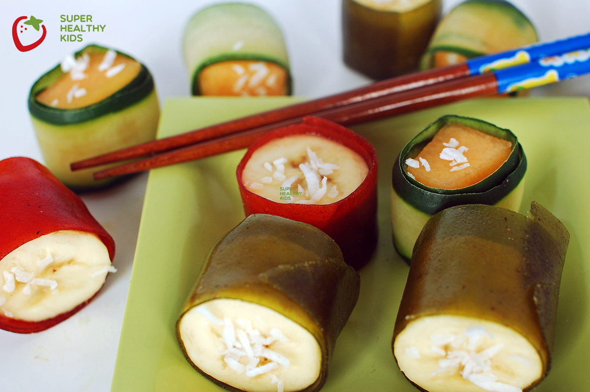 Party food fruit sushi healthy ideas for kids for Fun halloween treats to make with toddlers