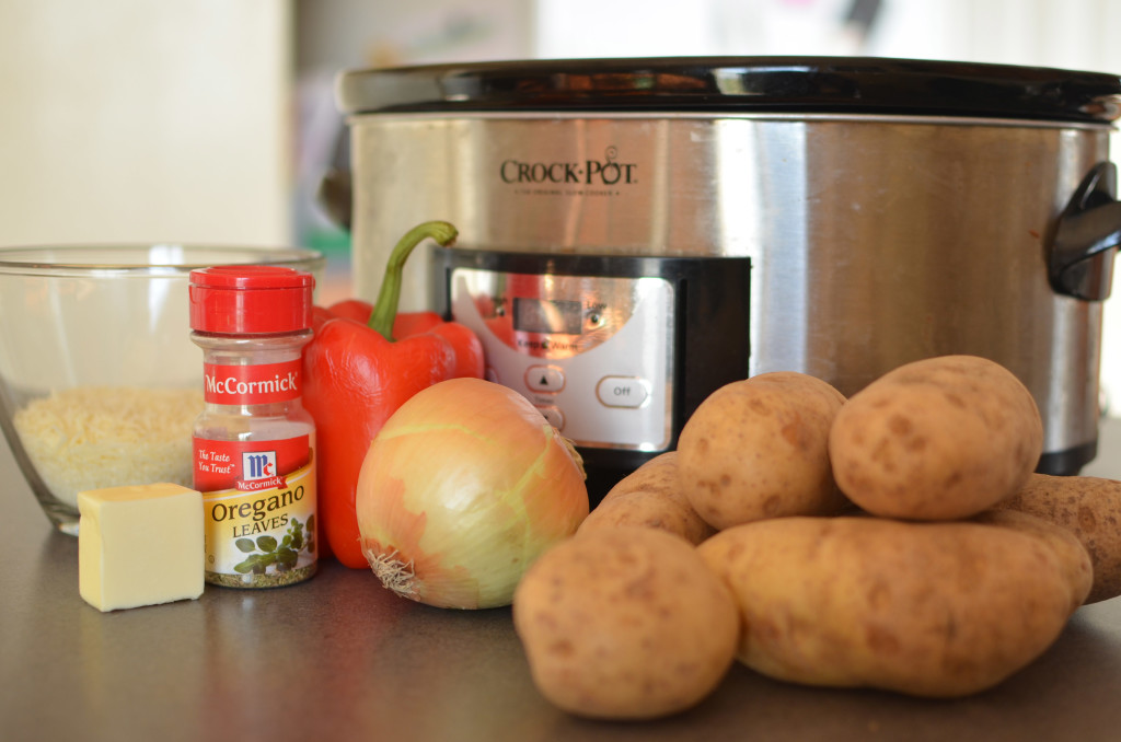 ingredients for crockpot potatoes