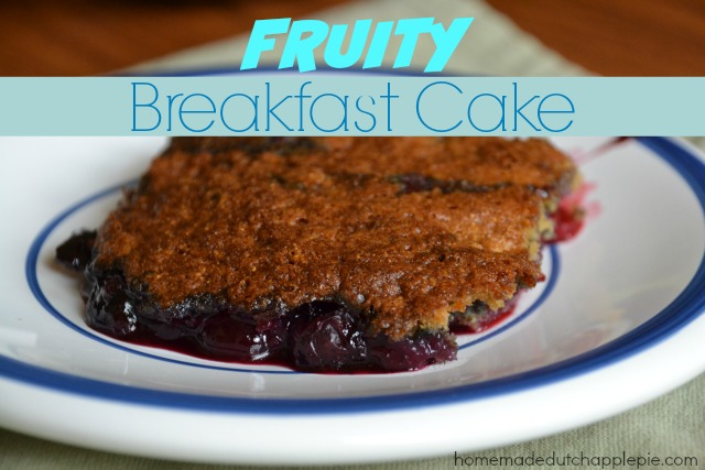 Can cake for breakfast really be healthy?