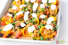 Quinoa Stuffed Mini Bell Nachos 2