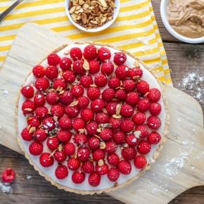 Raspberry Almond Tart 7