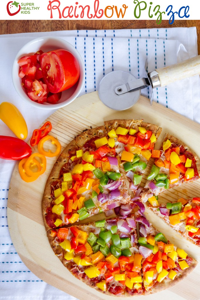 rainbow pizza vertical
