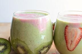 strawberry kiwi smoothie2