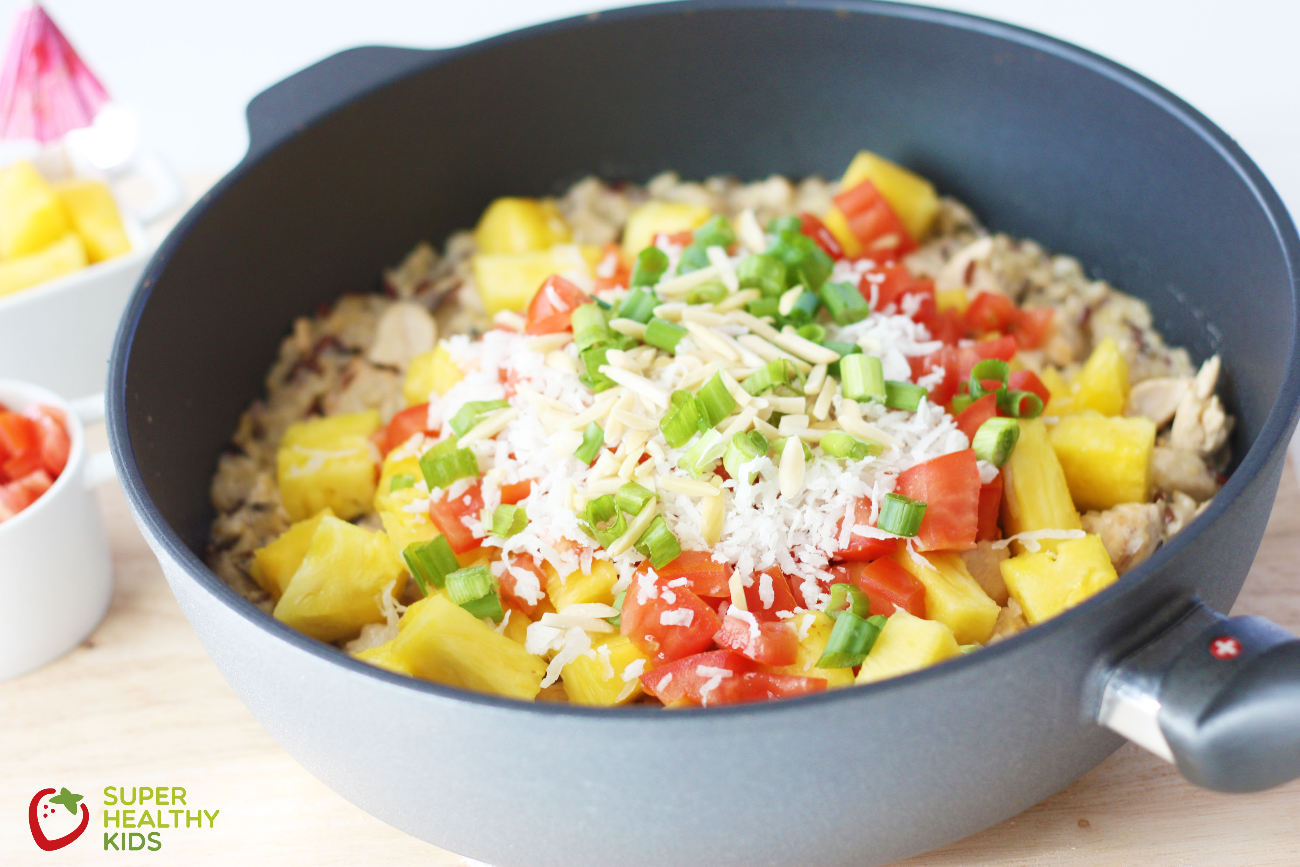 Healthy hawaiian haystack skillet healthy hawaiian haystack skillet our healthy and super fast version of a classic meal the forumfinder Images