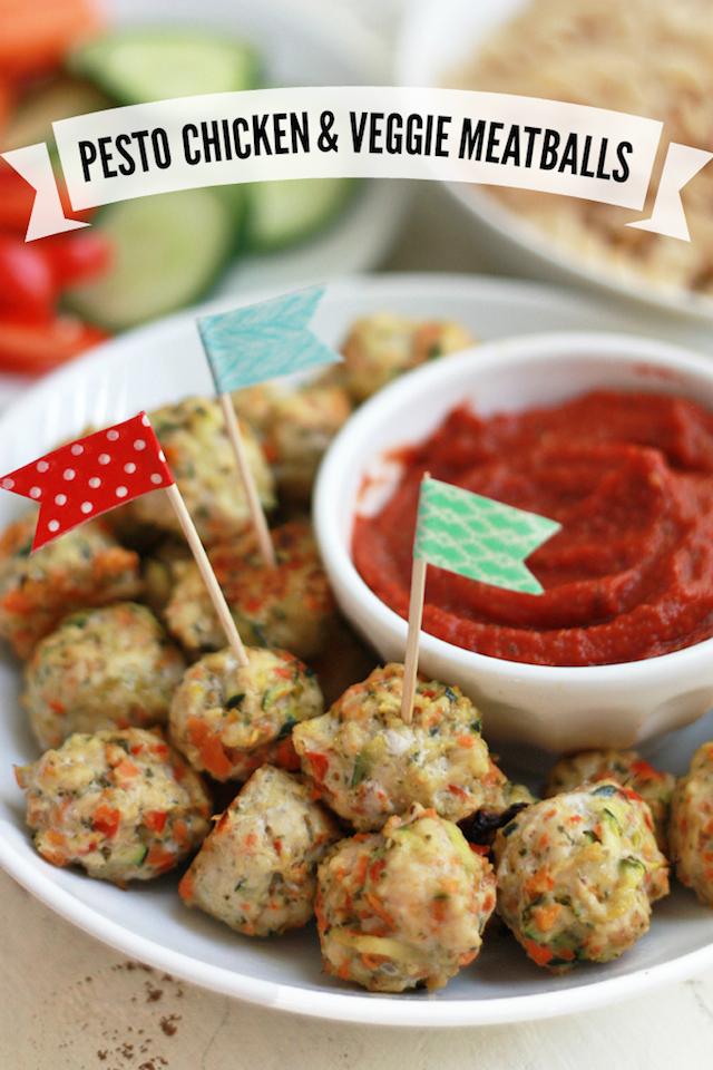 Pesto Chicken Veggie Meatballs Recipe Healthy Ideas For Kids
