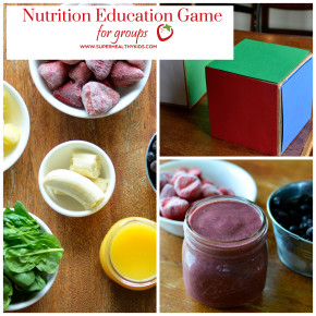 nutrition lesson plan square with text