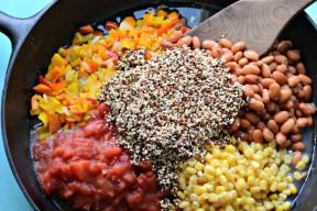 one pot taco casserole quinoa