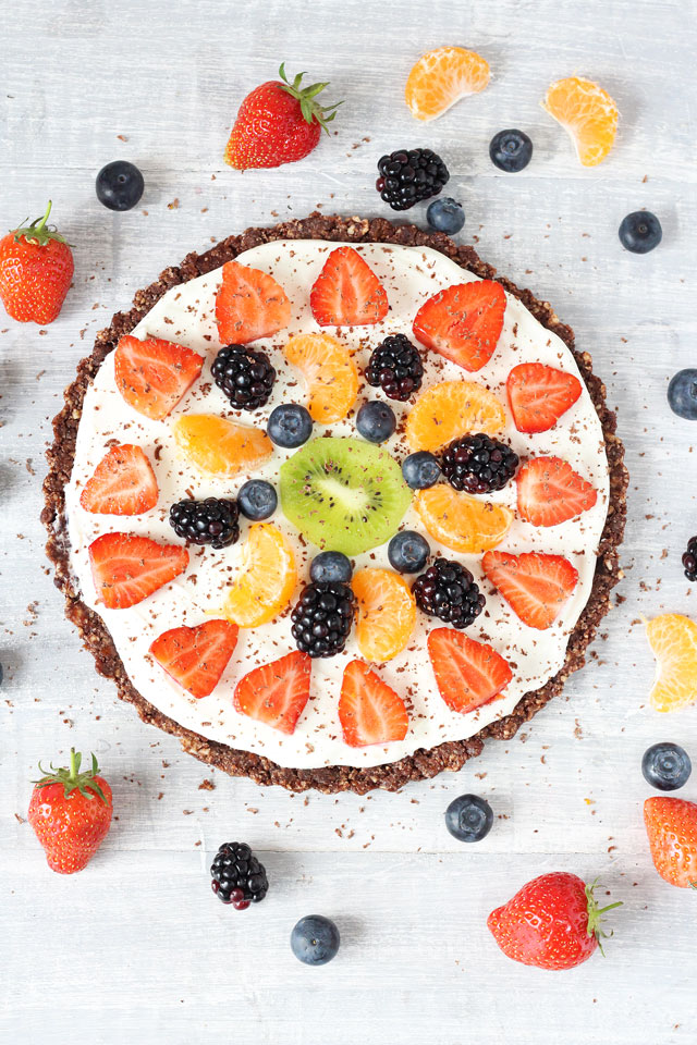 healthy fruit pizza recipe easy fruit crumble