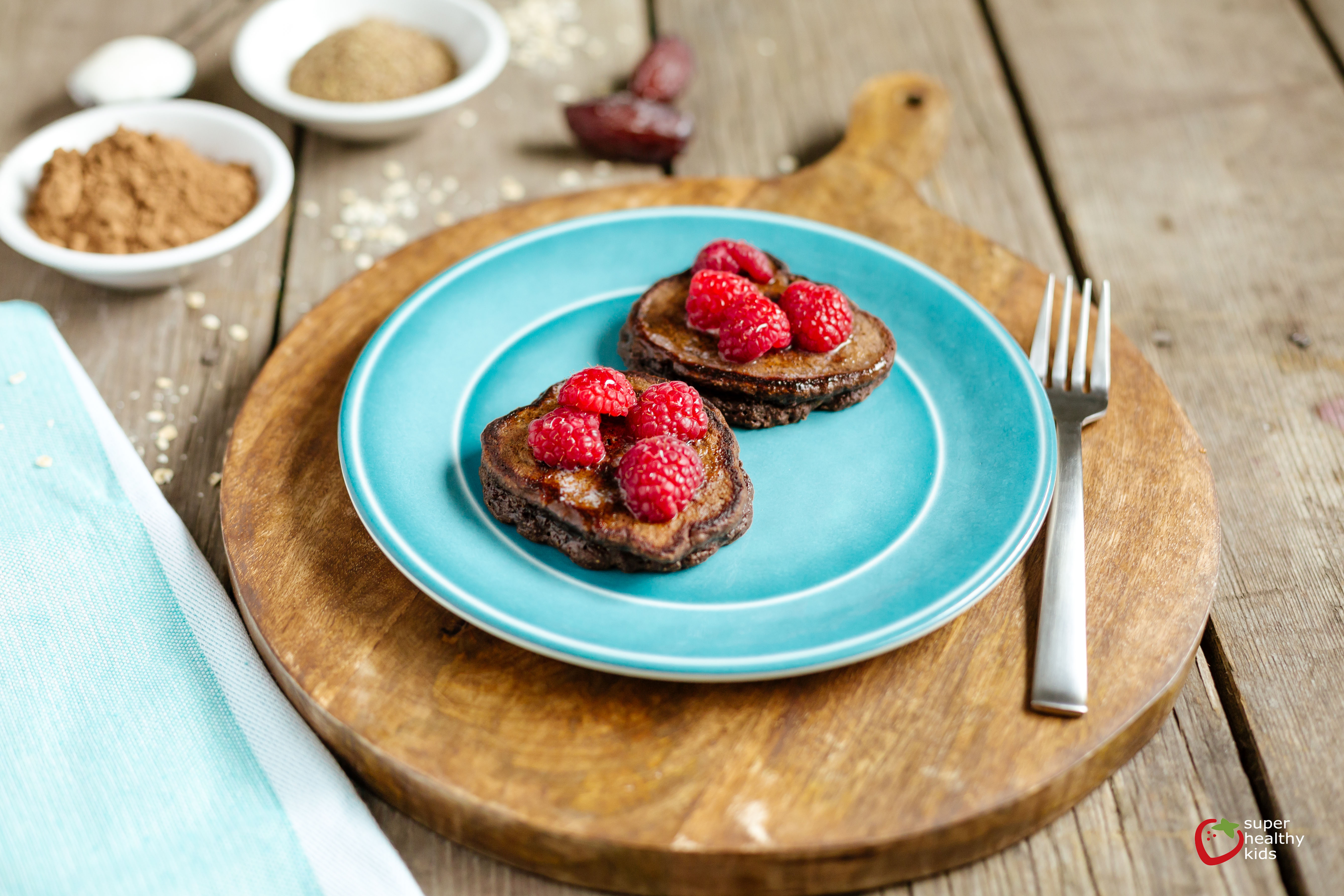 Sweet Cocoa Pancakes | Healthy Ideas for Kids