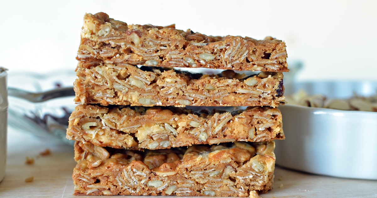 Grab And Go Granola Bars Recipe Super Healthy Kids