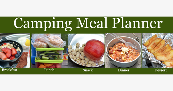 Healthy Camping Meal Plan Recipes And Shopping List Super