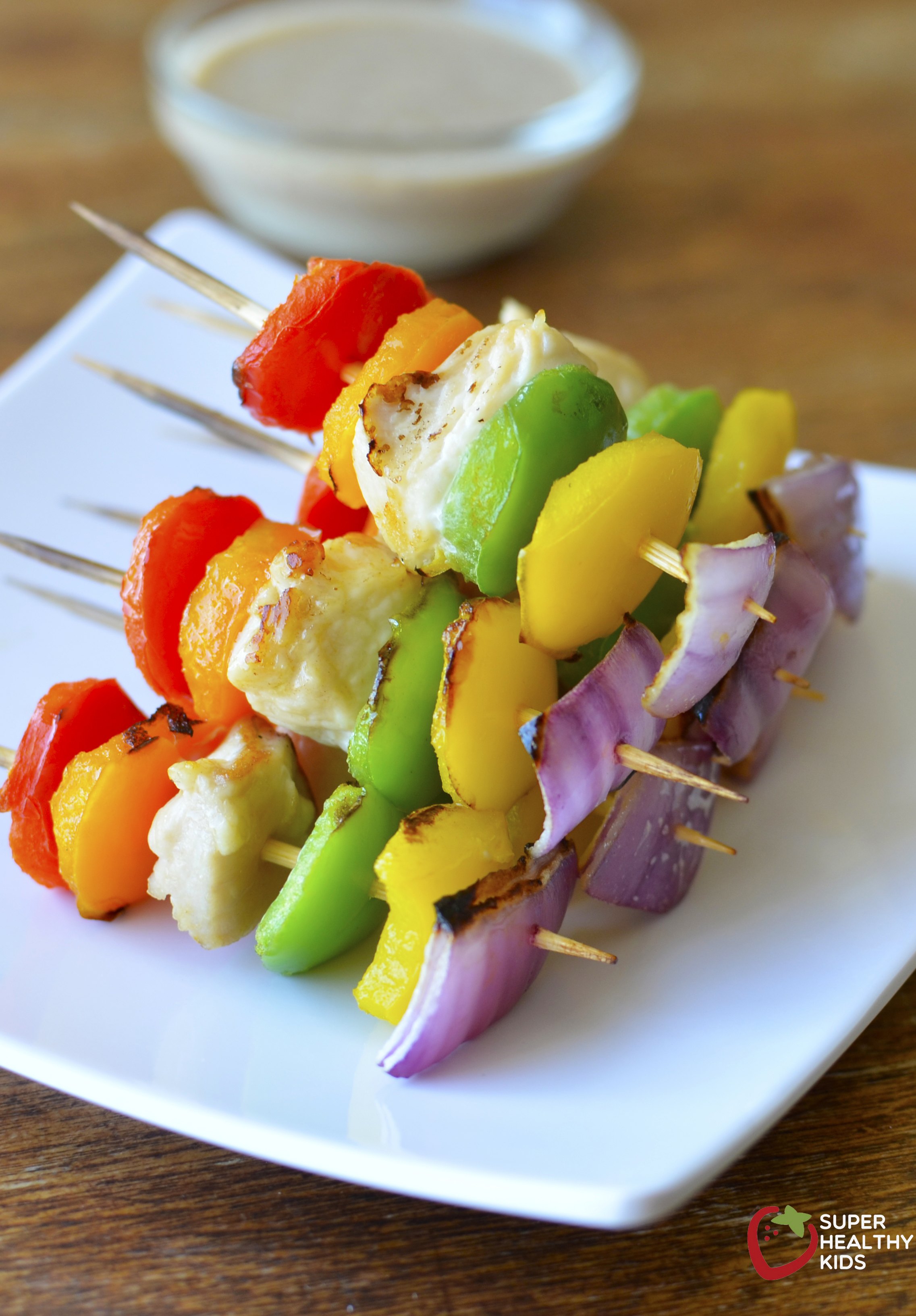 Fruit Kabobs - Dinner at the Zoo