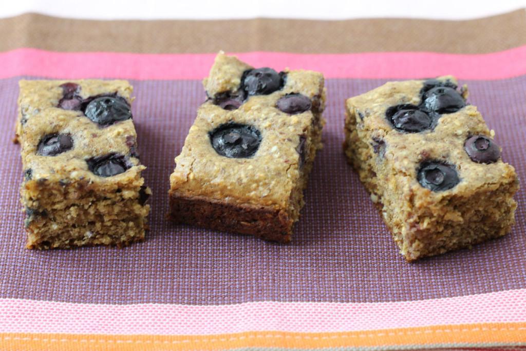 Blueberry Date Snack Cake